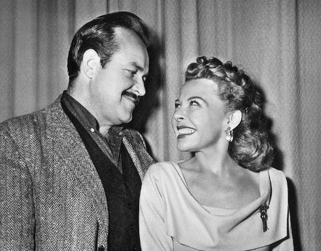 William Conrad and Georgia Ellis